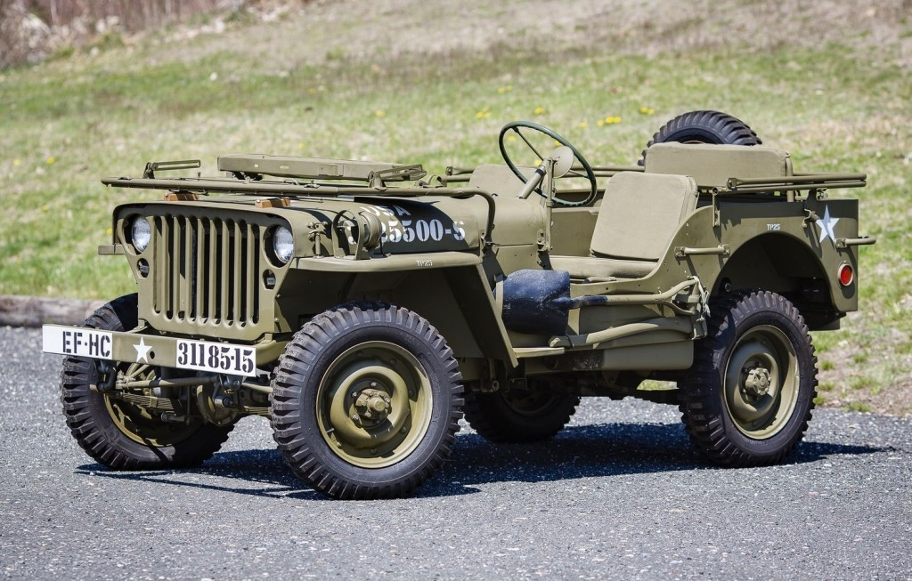 Army Crew Willys Jeep Rebuild