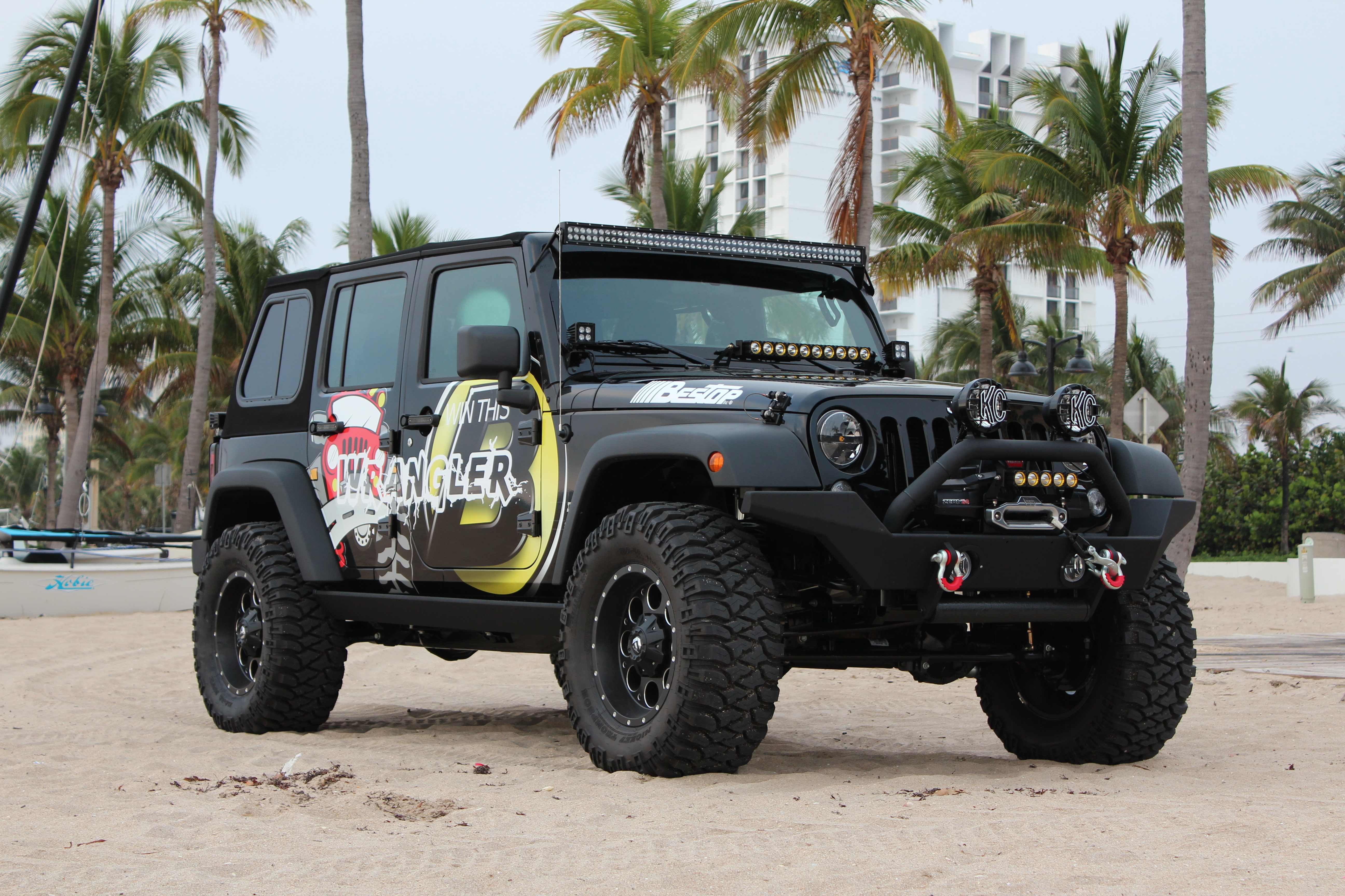 The Giveaway Jeep