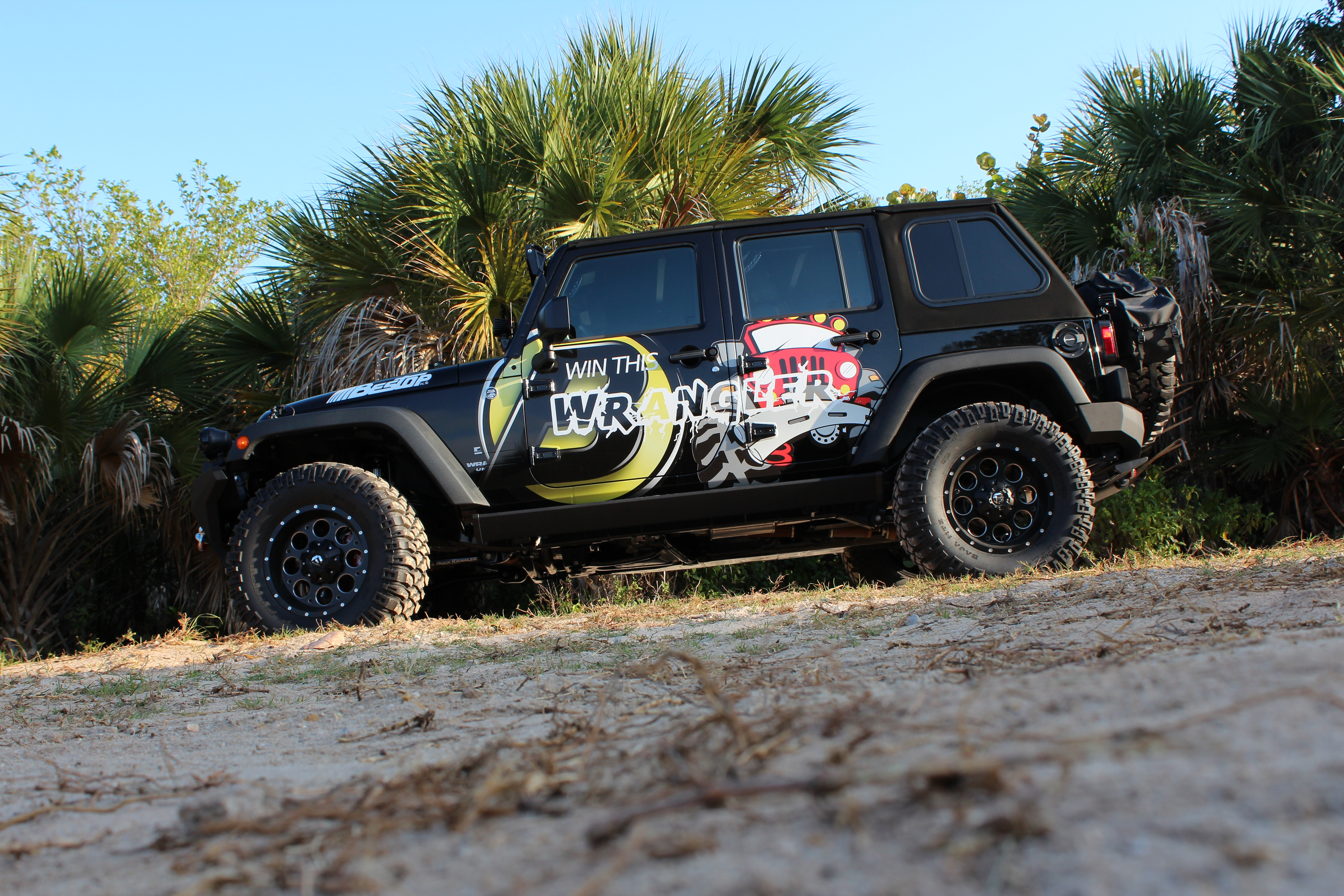 win this jeep !
