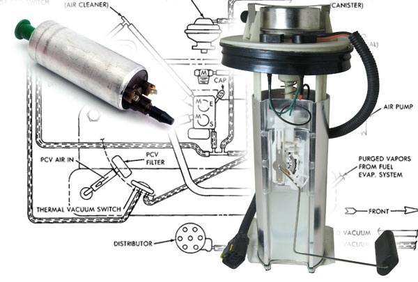 jeep fuel pumps and filters