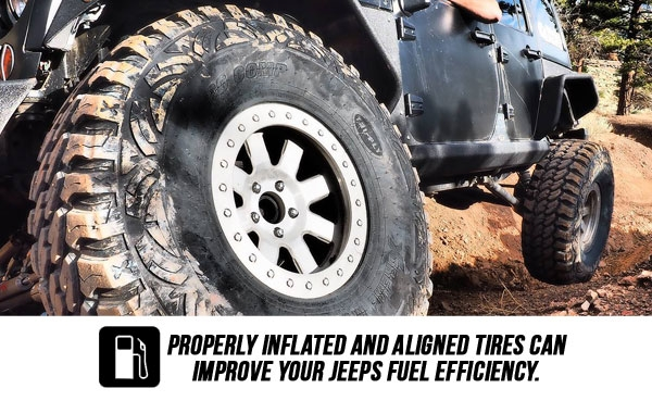 Rotating your Jeeps Tires