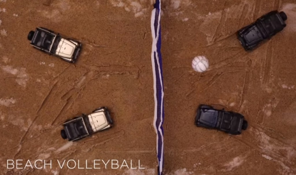 Jeep Olympic Beach Volleyball