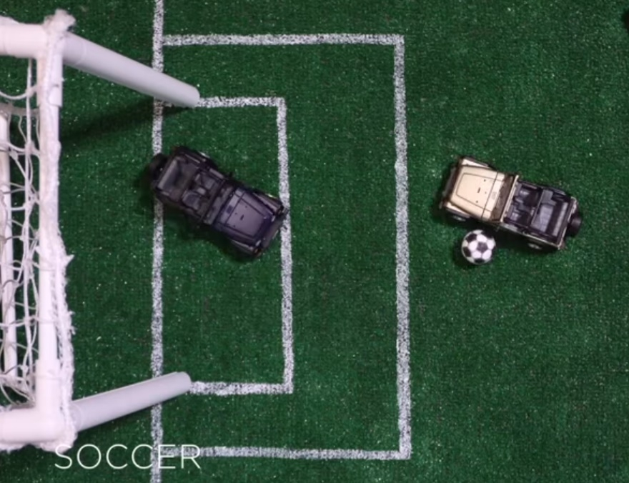 Jeep Olympic Soccer