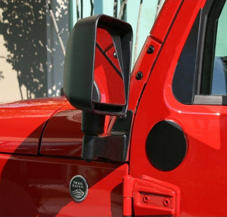 jeep side mirrors when doors are off in4x4mation center jeep side mirrors when doors are off