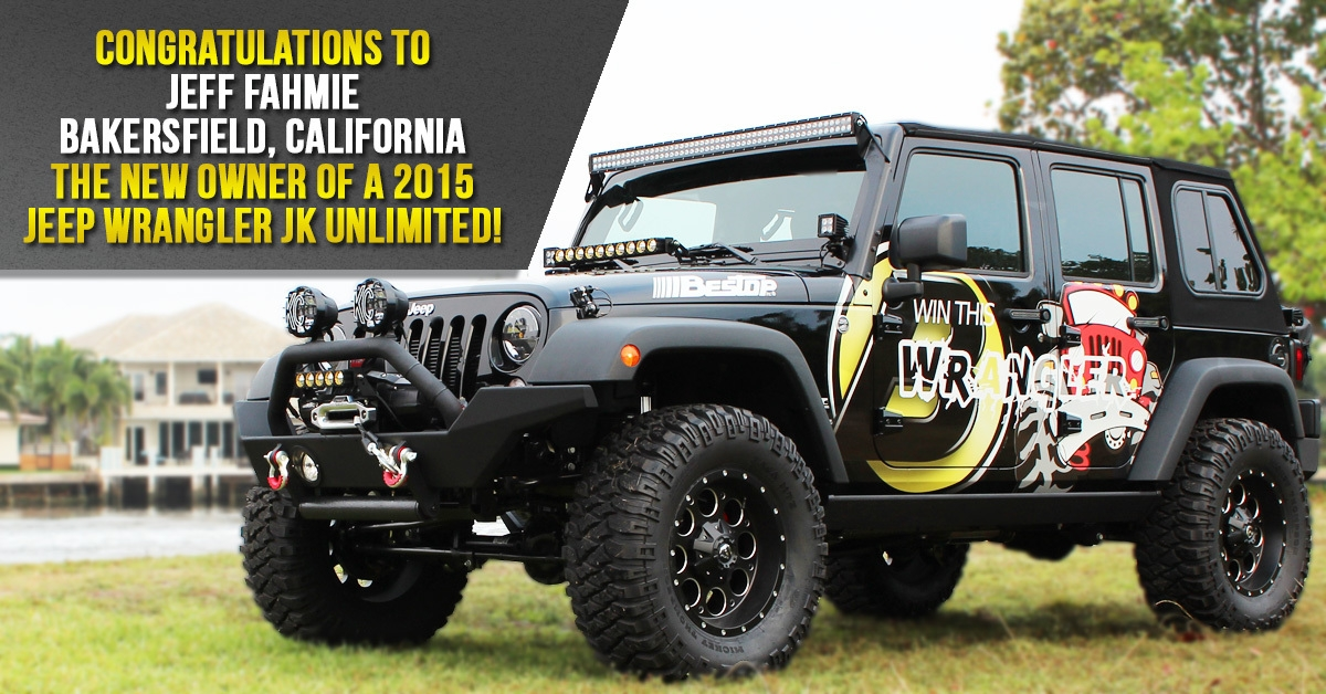 Morris jeep sweepstakes