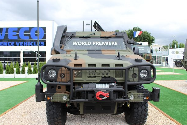 The Italian Light Multirole Vehicle By IVECO | In4x4mation