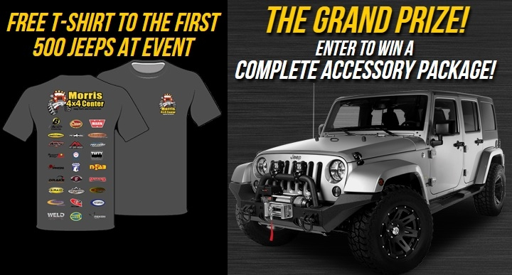 grand opening jeep grand prizes