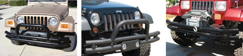 Rampage Double Tube Bumper less than $300 in high gloss and black powder coat