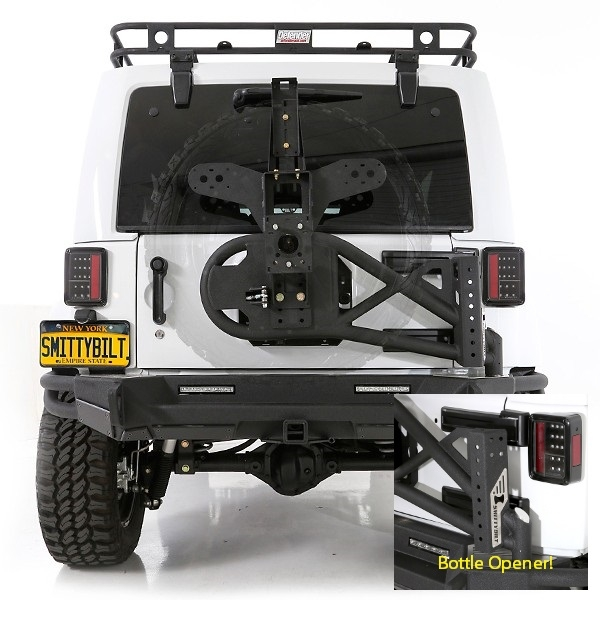 Smittybilt SRC Tire Carrier