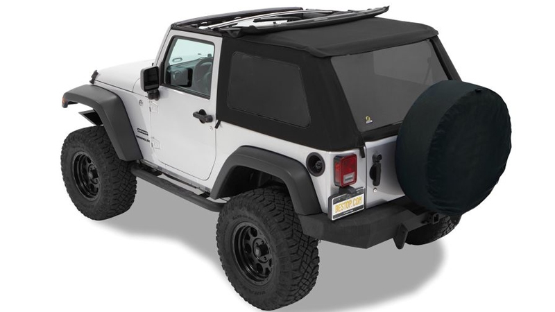 Bestop Twill Soft Top noise