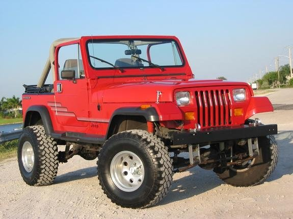 how to identify Wrangler YJ models