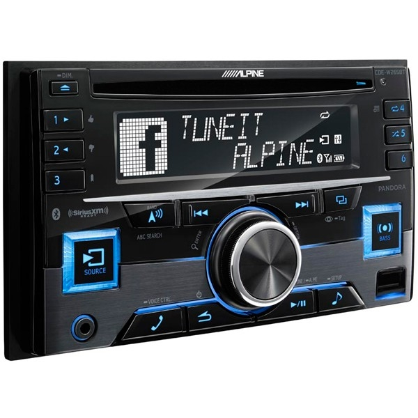 Jeep Dash Stereo from Alpine