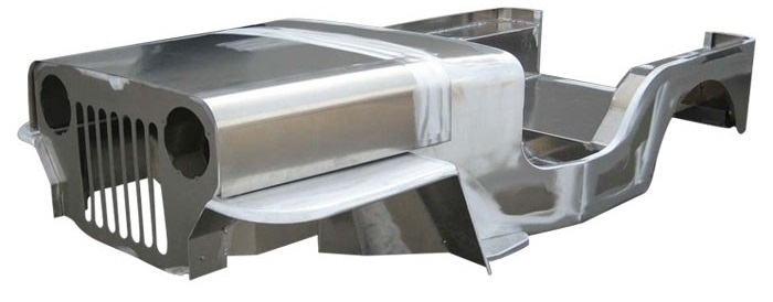 aluminum jeep tubs and bodies, florida