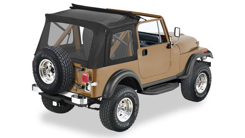 Flip top by Pavement Ends on a Jeep CJ