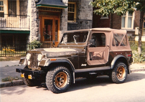 Came with a soft top or hard top option, Removable carpet, Radio, Moon roof for CJ7 Hardtops, Side steps, Power disc brakes, Power steering, Tachometer, ...