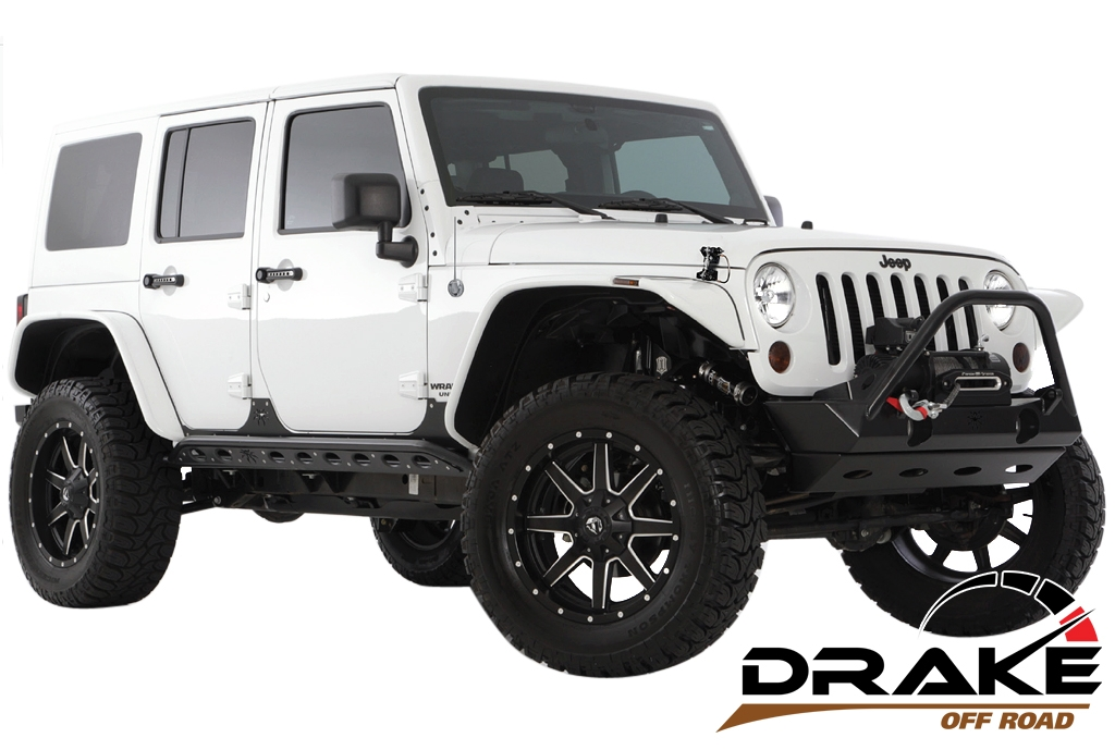 Drake Offroad Jeep Accessories On Jeep Wrangler