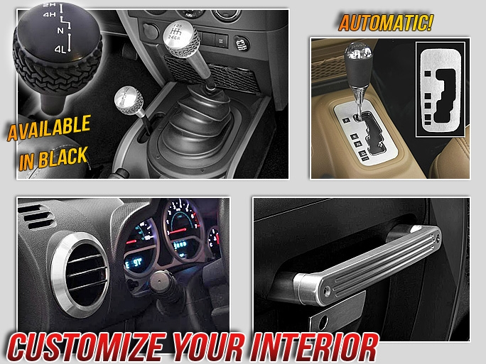 Drake Jeep accessories and parts trim