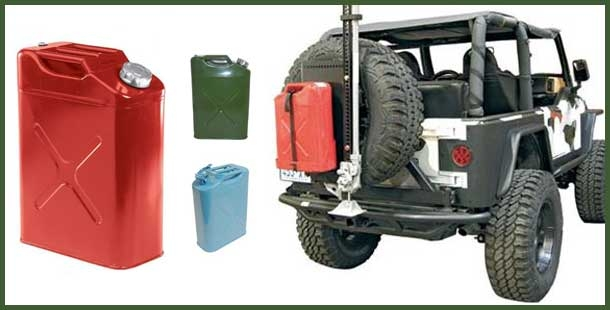jeep jerry cans from morris 4x4 center