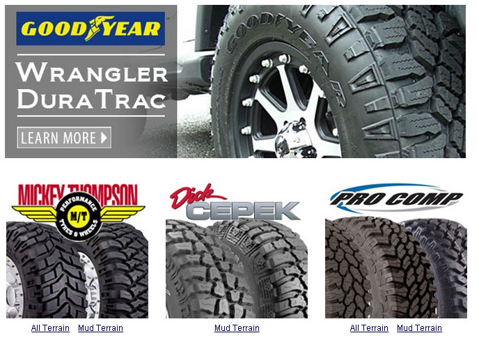 off road tires for jeeps