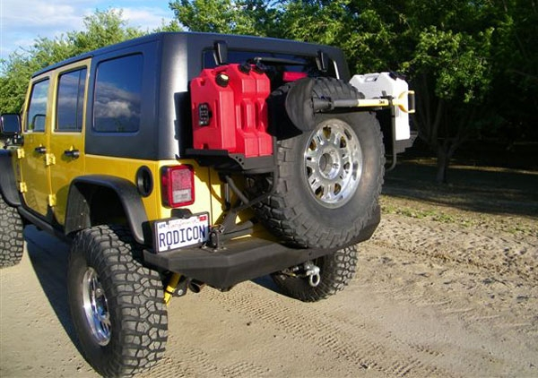 jeep rotopax fuel containers and mounts