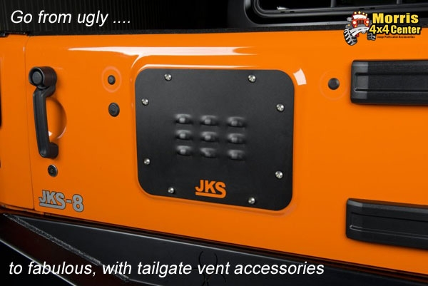 jeep wrangler tailgate accessories from morris 4x4