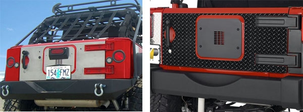 jeep tailgate armor by warrior