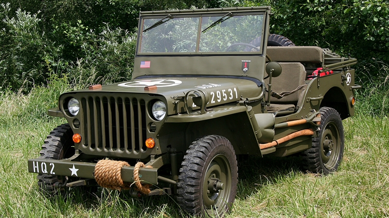 Jeep Willys MB Wheeler