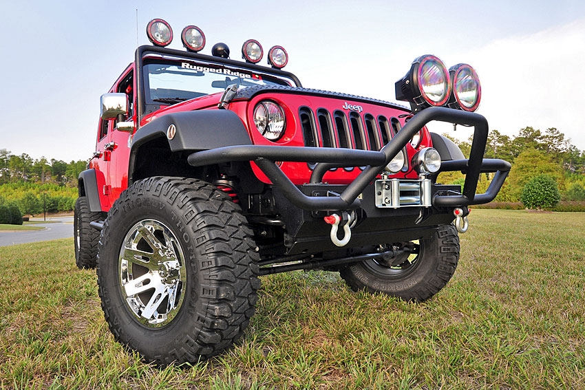 modular bumpers for jeeps