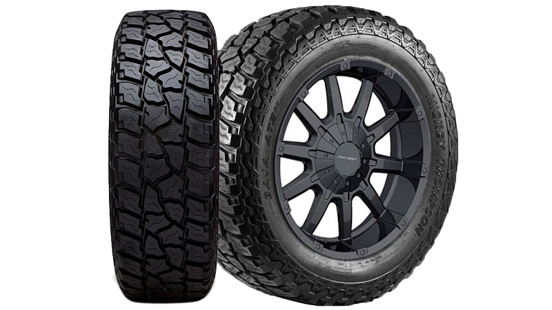 Two Mickey Thompson tires