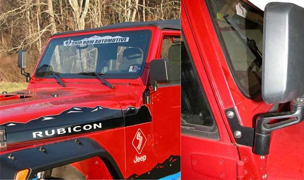 jeep jk mirror relocation brackets