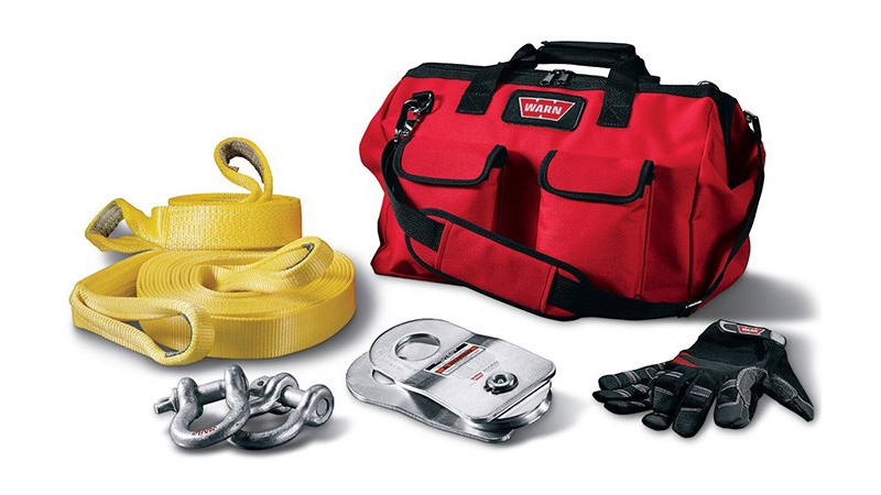 WARN Recovery Bag and Accessories