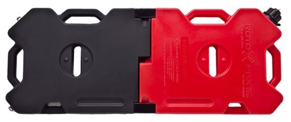 rotopax fuel containers interlocking for jeeps