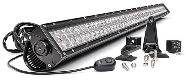 rough country led light bars jeeps