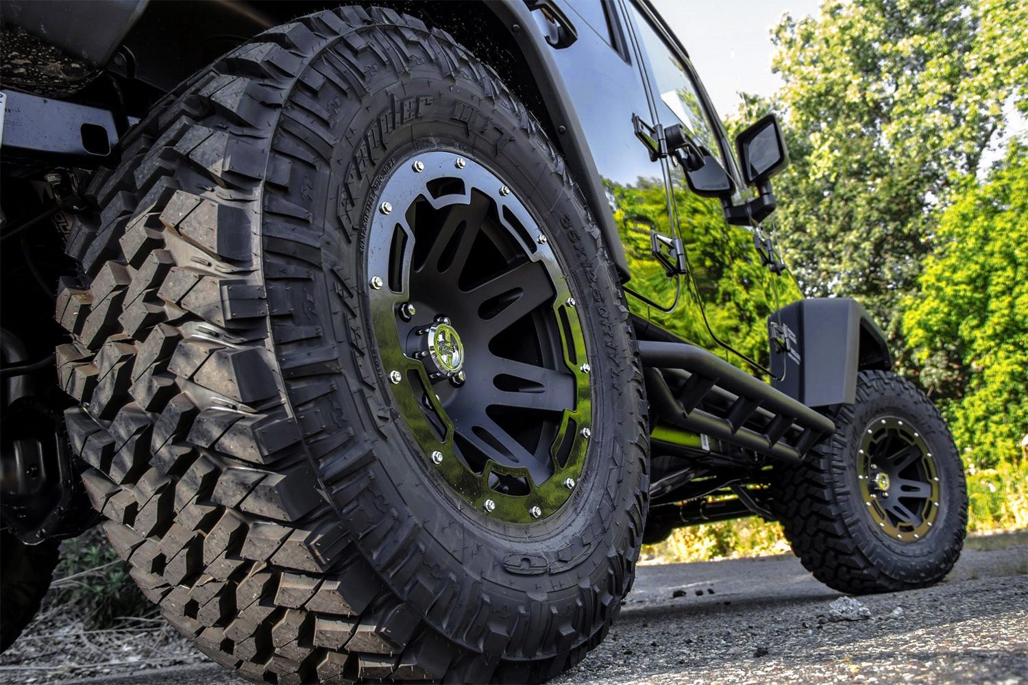 rugged ridge wheels and rims for jeeps 4x4