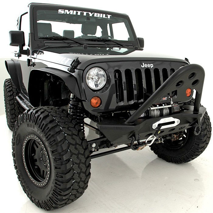 smittybilt jeep bumpers with stinger