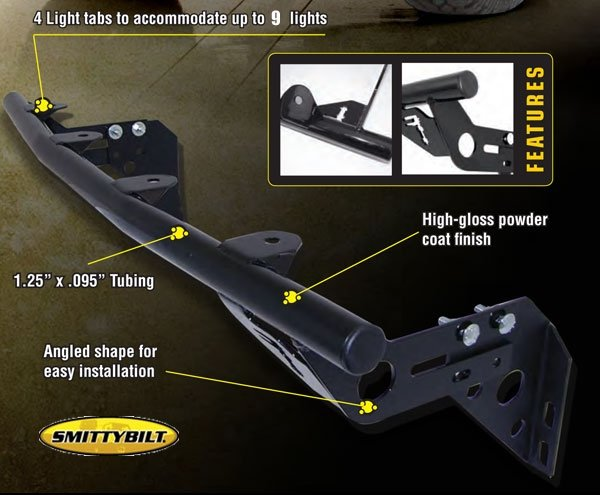smittybilt toyota lights bars
