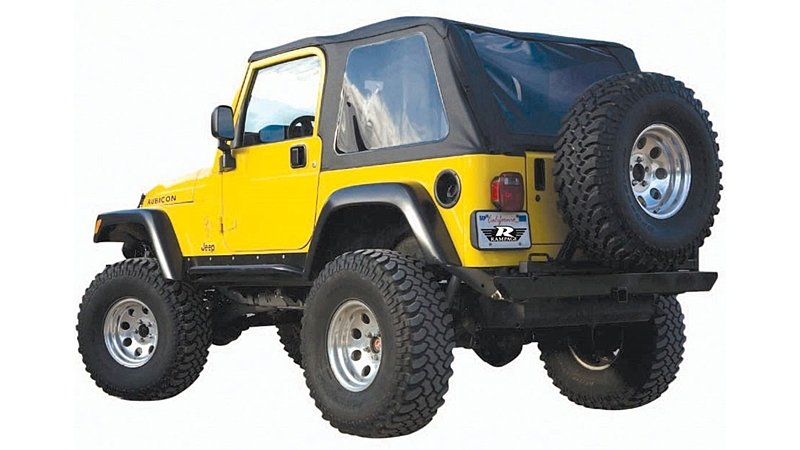 Trail soft top from Rampage