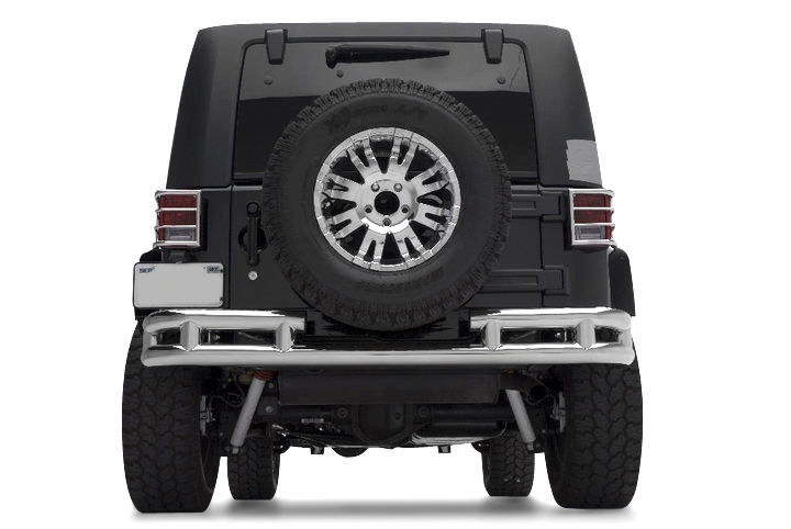 rear jeep tube bumpers