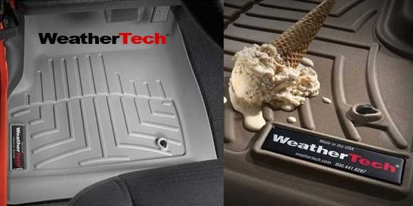 weathertech jeep flor mats and cargo liners