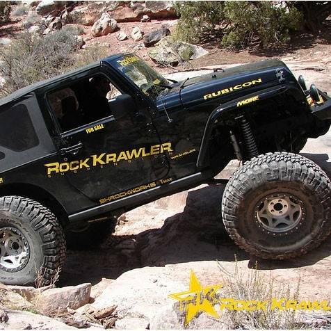 Jeep Wrangler Lift Kit side view