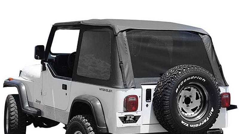 Soft top on a Jeep YJ